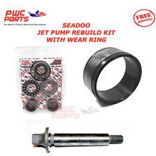 SEADOO Jet Pump Rebuild Kit Wear Ring Impeller Shaft 2003-2005 GTI LE RFI