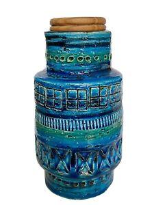 Bitossi Rimini blue Aldo Londi Vase