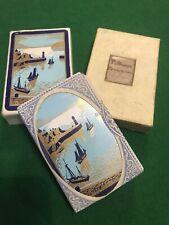 Vintage Pelham Playing Cards Sealed Duty Tax De La Rue Linen Finish