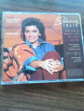 Shania Twain YOU LAY A WHOLE LOT OF LOVE ON ME u.s. promo-only cd single 1993