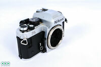 Nikon FA Chrome 35mm Camera Body *AS/IS*