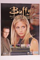 Buffy The Vampire Slayer Game Boy Advance Poster Only
