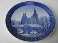 """ 1952 - 1967 ""  ROYAL COPENHAGEN CHRISTMAS PLATE OLD"