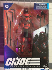 G.I. Joe Classified Series 6-Inch Red Ninja IN HAND Ready To Ship Wave 2