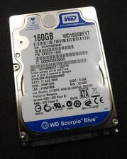 "160GB Western Digital WD1600BEVT-22ZCT0 - HHNT2HN 2.5"" SATA Hard Drive (2)"