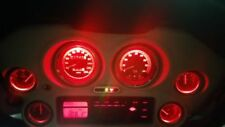 replacement red bright led light bulbs for harley streetglide gauges