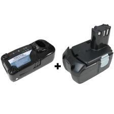 Set: Ladegerät + AKKU 18V Li-Ion 3000mAh für Hitachi BCL1815 CR18DV DV18DVL