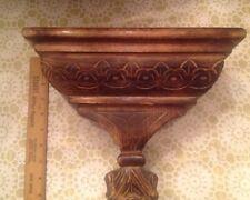 Carved Wood Shelf -India