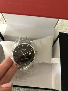 Tissot Luxury Powermatic 80 Brown Dial Mens Watch  New With Tags $795.00