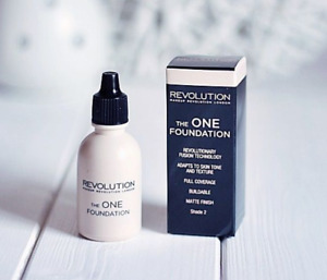 MAKEUP REVOLUTION The One Foundation - Lightweight Coverage For Face and Body!