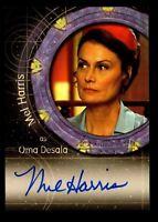 Stargate SG-1 Season Eight Mel Harris as Oma Desala Autograph Card A72