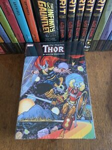 The Mighty Thor MARVEL COMICS Walter Simonson Omnibus 1st Print New Sealed L@@K