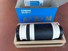 Cosina 100-400mm f4.5-6.7  for minolta