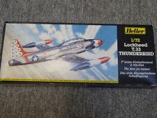 Maquette vintage Heller - Lockheed T.33 Thunderbird au 1/72