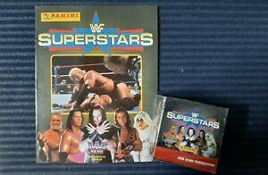 PANINI WWF SUPERSTARS 1997 FACTORY SEALED BOX THE ROCK? PSA  - MINT  + Album