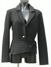MARC CAIN BLAZER Jacke D 36 - 38 Schwarz Wolle Kurzjacke coat
