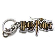 Harry Potter New * Harry Potter Logo * Pewter Key Chain Key Ring Keychain Magic