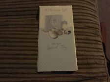 A Christening gift money card