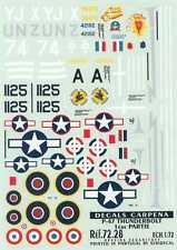 Colorado Decals 1/72 REPUBLIC P-47 THUNDERBOLT Part 1