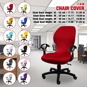 Removable Office Computer Chair Cover Stretched Rotate Chair Back Seat