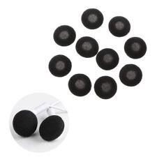 10Pcs 15mm Soft Foam Sponge Earphone Headphone Earbud Ear Pad Covers Replacement