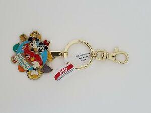 Disney Parks Mickey & Minnie's Runaway Railway Keychain New