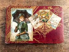 The Golden Butterfly Album - c:1880 - Beautiful Antique Autograph Album