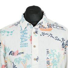 H&M Pullover Camisa Hawaiana | patrón de estilo vintage y retro Aloha Loco impresión gráfica