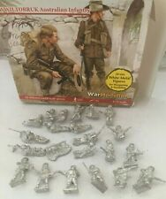 Fantassin Miniatures WWII TOBRUK AUSTRALIAN INFANTRY 21 Figures & 1 Gun (20mm)