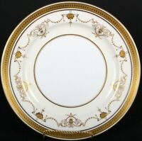 Minton, England NeoClassical Style Gold Encrusted Plate