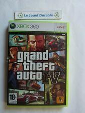 Grand Theft Auto IV GTA 4 -  Xbox 360 - CD en très bon état - complet