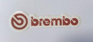 8cm Brembo Brake Car Motorcycle Decal Sticker #odd2