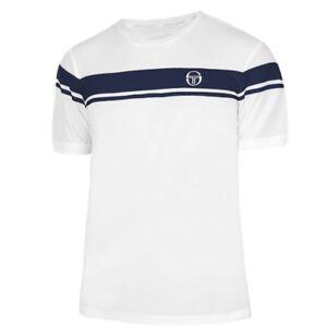 Sergio Tacchini Mens Striped Logo T-Shirt