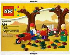 LEGO #40057 FALL SCENE TREES 3 MINIFIGURES POLYBAG NEW RETIRED LA011