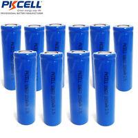 50 Stück PKCELL 18650 Akku 3,7V 100% 2200mAh Li-ion Batterie