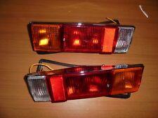 Fiat 124 Spider 1600/1800 Pair Lights Rear Full