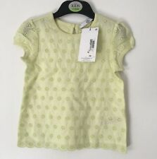 Marks and Spencer Girls' Embroidered 100% Cotton T-Shirts & Tops (2-16 Years)