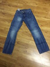 LEVI STRAUSS 514 Slim Straight Fit Blue Jeans Denim Pants Women's Size W28x L30