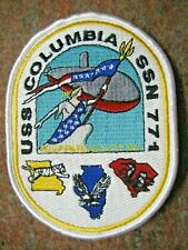 /US NAVY Patch Submarine USS COLUMBIA SSN-771