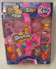 Shopkins Join The Party - Season 7 - 12 Pack - NIP - Sealed (Set D)