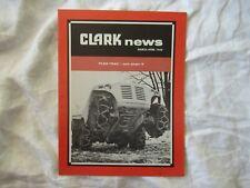 1960 Clark equipment news brochure flex-trac tractor