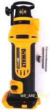 New DeWalt Dcs551 20V Cordless Battery Rotary Drywall Cut-Out W/ 2 Bits 20 Volt