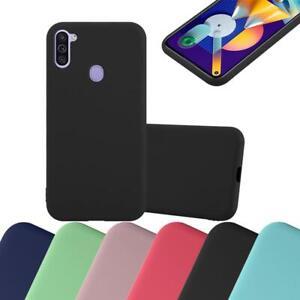 Schutz Hülle für Samsung Galaxy A11 Eu M11 Handy Cover Case TPU Candy Bumper