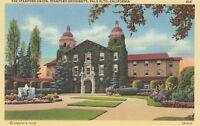Linen Postcard A320 The Stanford Union Stanford University Palo Alto California
