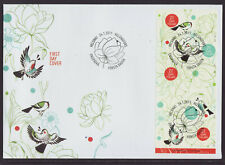 Finland 2011 FDC - The Spring of Life - Birds - with booklet of 5 stamps