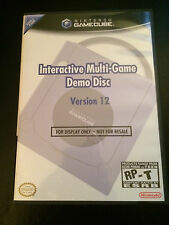 Interactive Multi-Game Demo Disc Version 12 - Nintendo Gamecube - Great Cond!