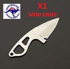 X1 SILVER BWITHU Outdoor EDC Mini Knife Sheath Hunting Camping Pocket