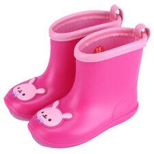 Kids Cute Cartoon RainBoots Toddler Girls Waterproof anti-skidding Rain Shoes