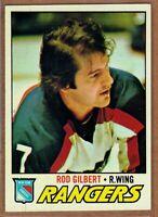 1977-78 Topps #25 Rod Gilbert