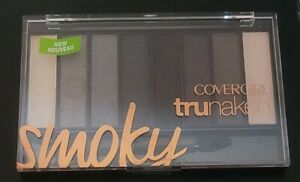 COVERGIRL TruNaked SMOKY Eyeshadow Palette 8 Colors - Full Size NEW Sealed